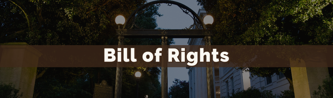 Bill of Rights Banner